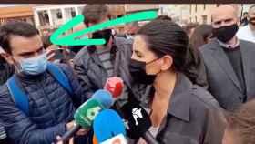 La plataforma amparada por la consejera de RTVE del PP acosa a un reportero del 'Telediario'