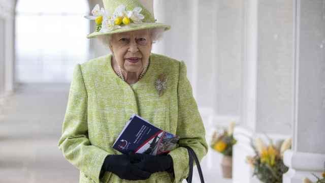 La reina Isabel II en una imagen de archivo tomada el 31 de marzo de 2021.
