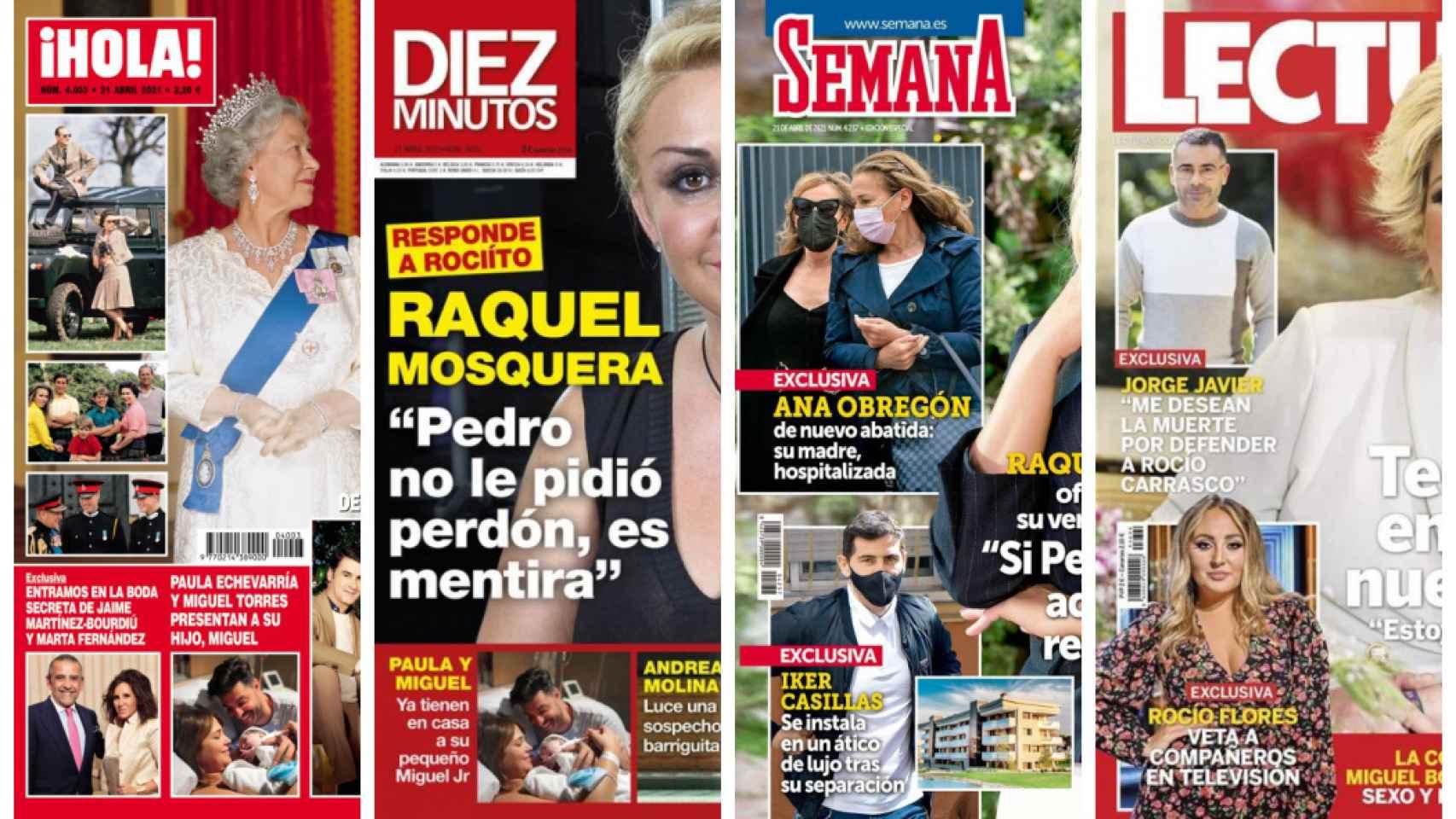 Estas son las revistas de este miércoles.