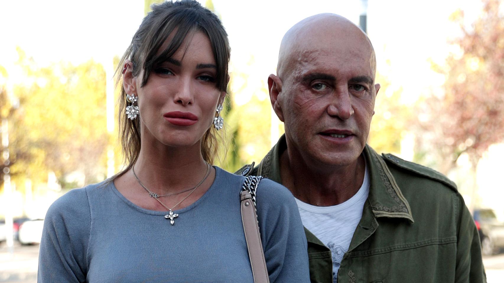 Marta López Álamo y Kiko Matamoros, en una imagen de archivo.
