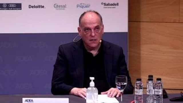 Javier Tebas, en el Foro ADEA