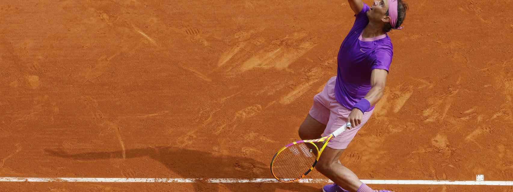 Rafa Nadal, en el Masters 1000 de Montecarlo de 2021