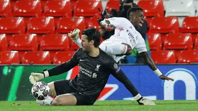 Las mejores imágenes del Liverpool - Real Madrid de la Champions League