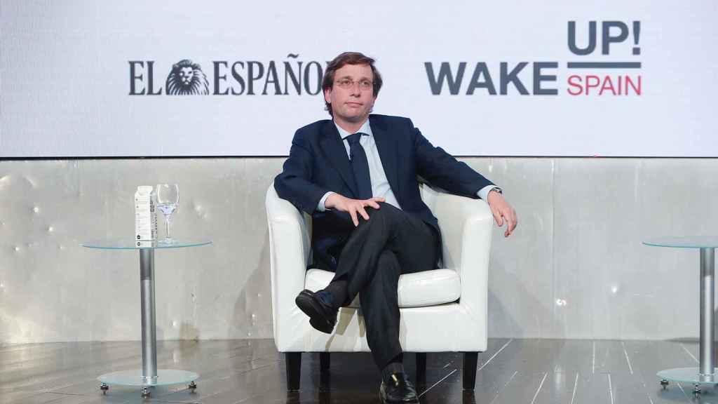 El alcalde de Madrid, José Luis Martínez Almeida.