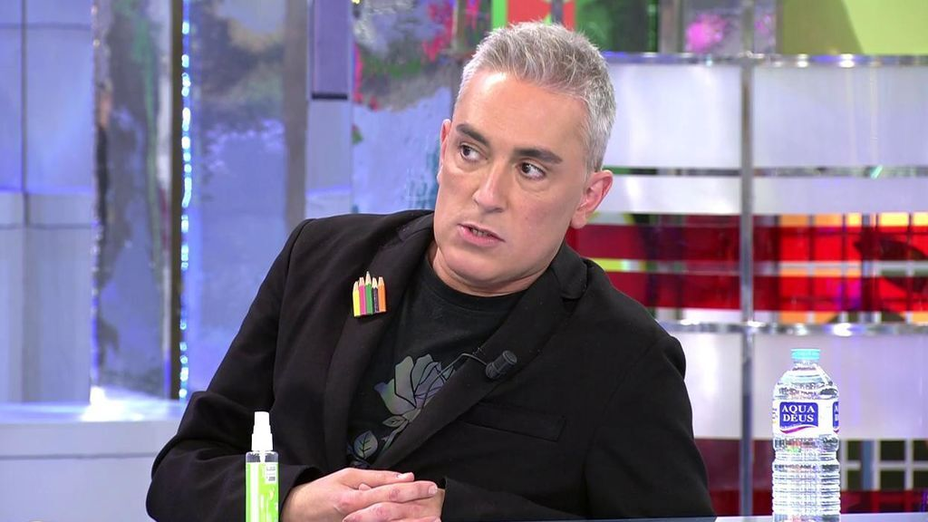 """La amenaza de Jorge Javier a Kiko Hernández: """"Si te vas a las mañanas abrimos tu cajón de la mierda"""""""