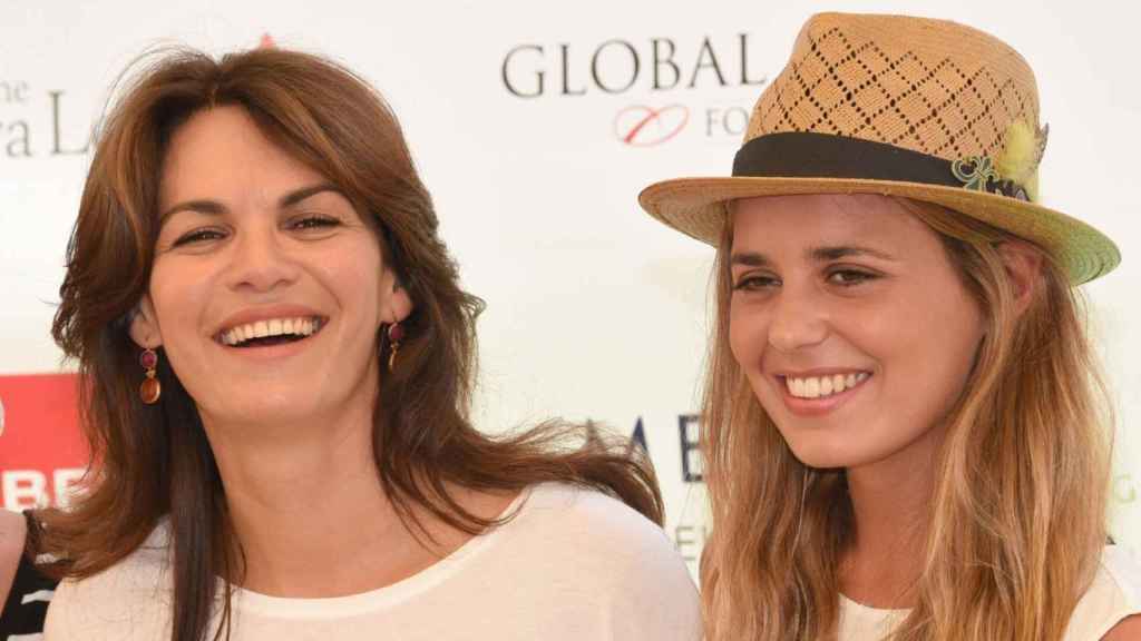 Fabiola junto a Claudia en una imagen de 2015.