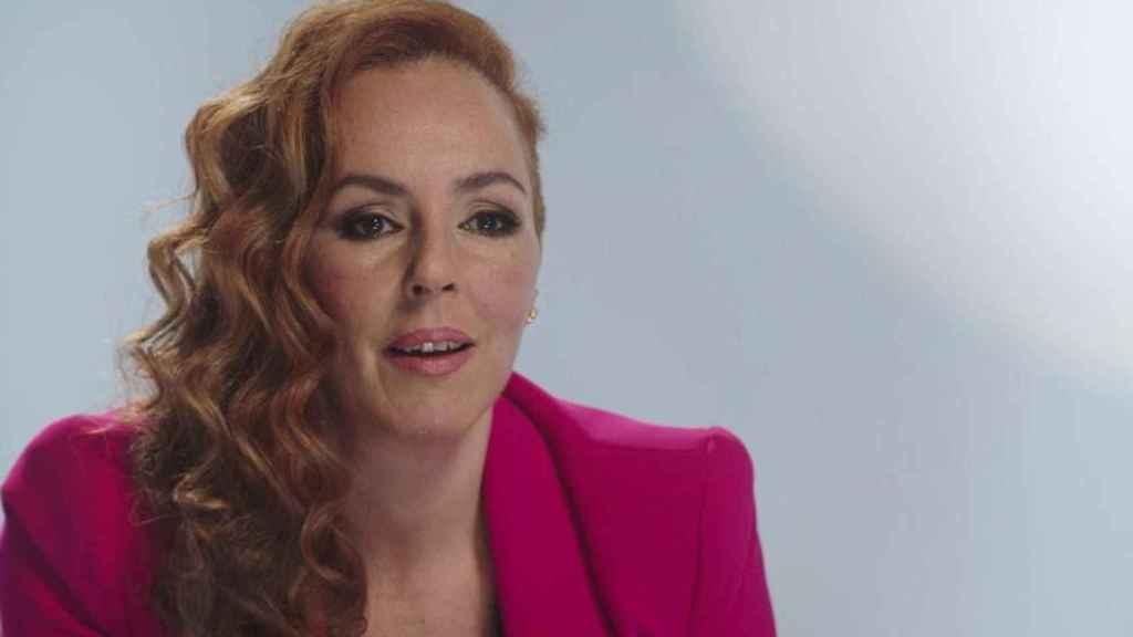 Rocío Carrasco en una imagen del documental que acapara la actualidad desde hace semanas.