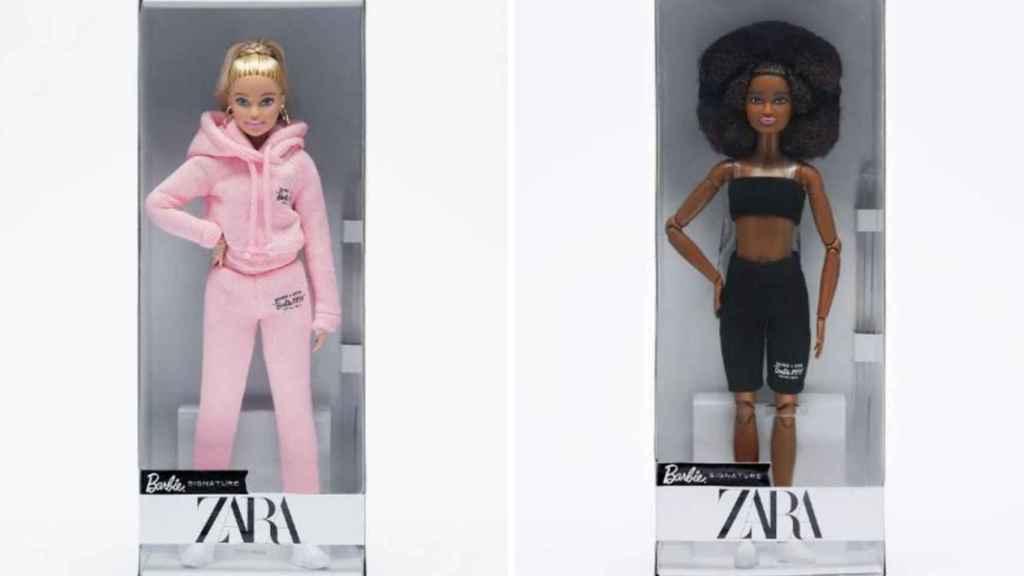 Estas son las dos muñecas con las que Zara ha recaudado fondos para Entreculturas.