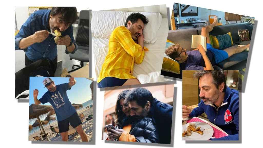 Descanso, comida casera y viajes en familia son los protagonistas de sus once meses de creación.