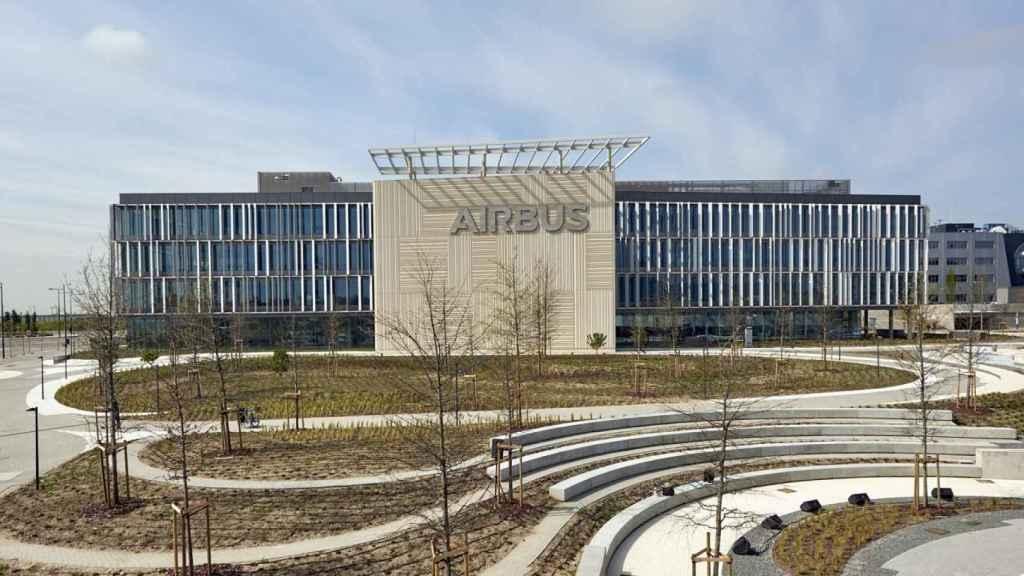Imagen del nuevo campus de Airbus en Getafe.