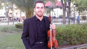 Daniel Gómez (24), manchego, violinista y número 1 del MIR 2021.