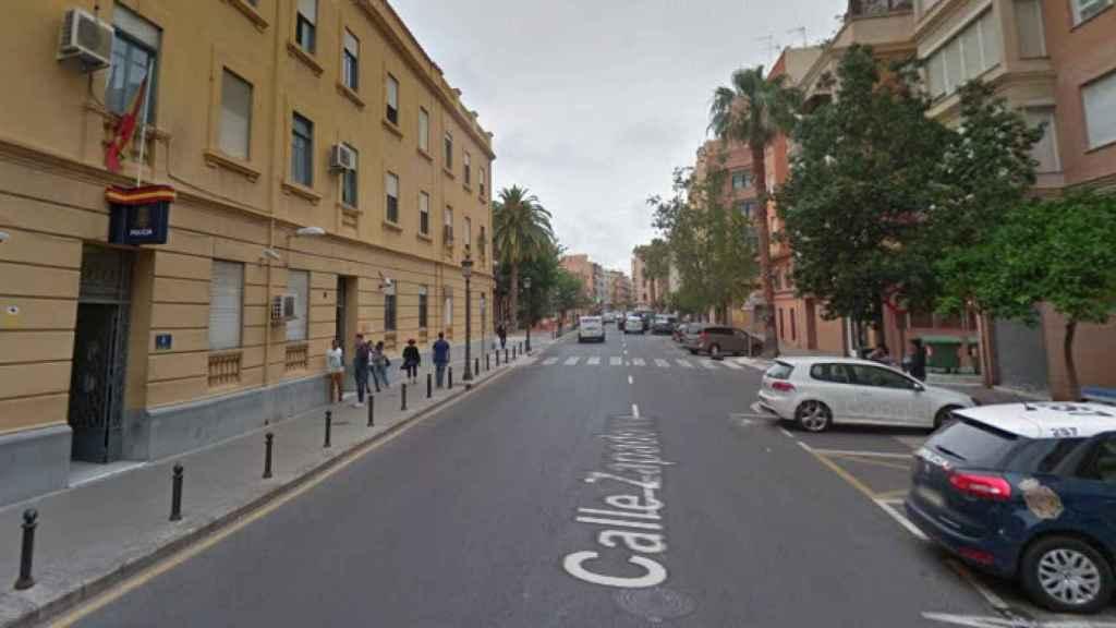 Complejo Policial de Zapadores de Valencia donde se produjo la brutal agresión a una funcionaria de CNP.