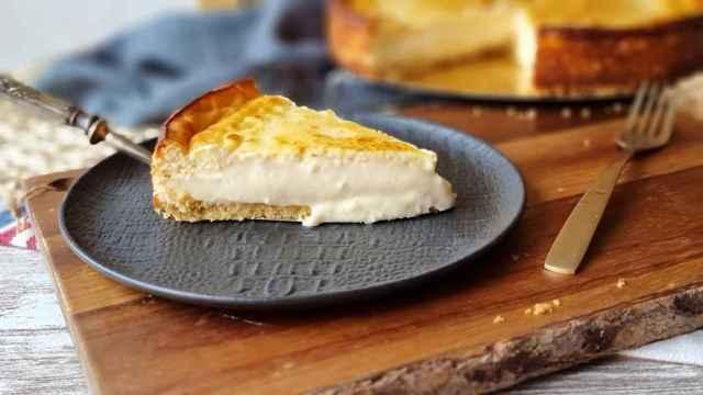Tarta de queso y chocolate blanco, todos los secretos de la tarta fundente
