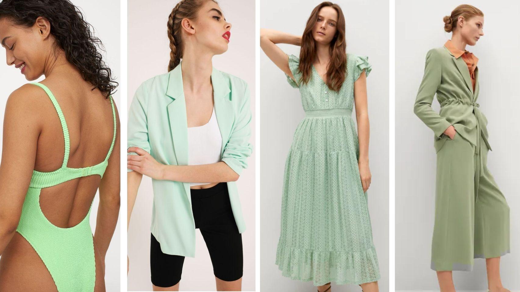 Verde pastel: la gama cromática que va a revolucionar tus estilismos.