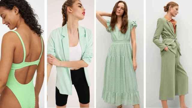 Verde pastel: la gama cromática que va a revolucionar tus estilismos