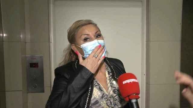 Raquel Mosquera, ingresada por un supuesto brote psicótico