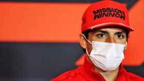 Carlos Sainz en el Gran Premio de Imola
