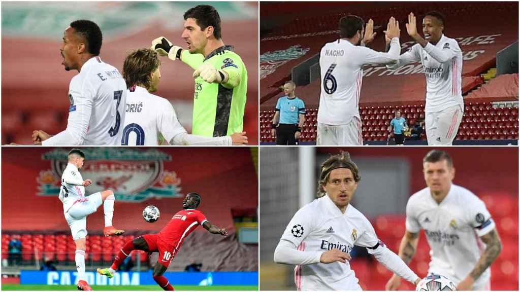 El Real Madrid, en Anfield