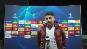 La genial rueda de prensa de Fede Valverde tras eliminar al Liverpool