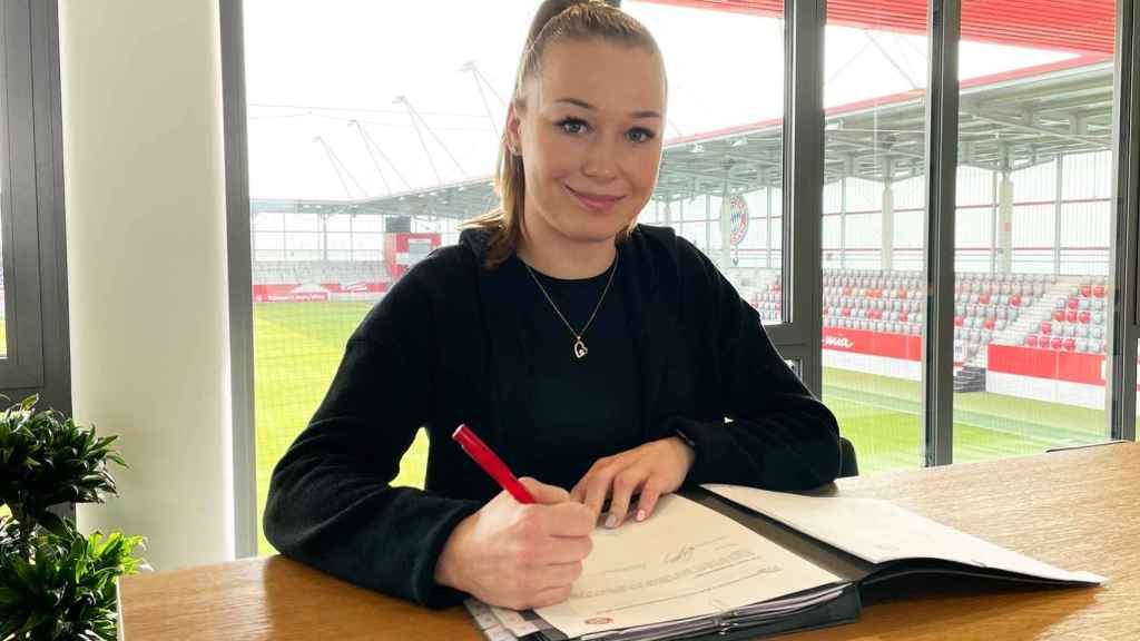 Weronika Zawistowska, jugadora del Bayern Múnich femenino