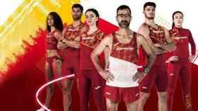 Equipación de Joma para la Selección Española de Atletismo