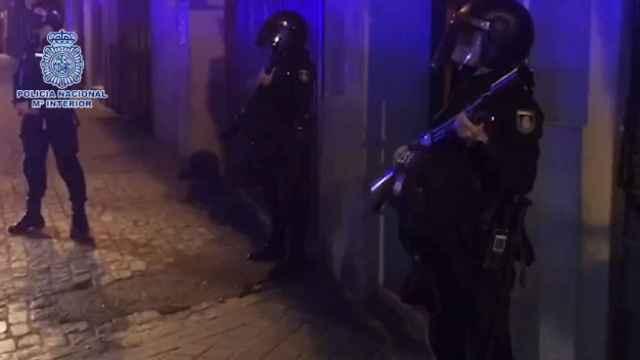 La Policía Nacional detiene a otras 5 personas por los disturbios del acto de Vox en Vallecas