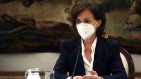 La vicepresidenta primera del Gobierno, Carmen Calvo. Efe