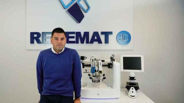José Manuel Baena, CEO de Regemat 3D.