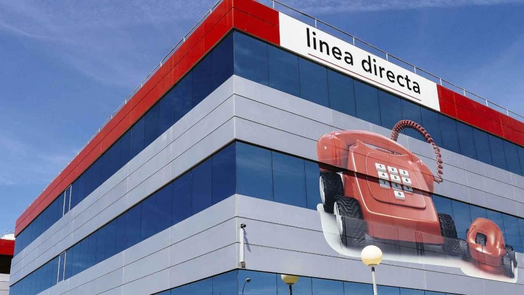 Detalle en una de las oficinas de Línea Directa.
