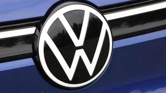 Emblema de Volkswagen en el nuevo ID.4.