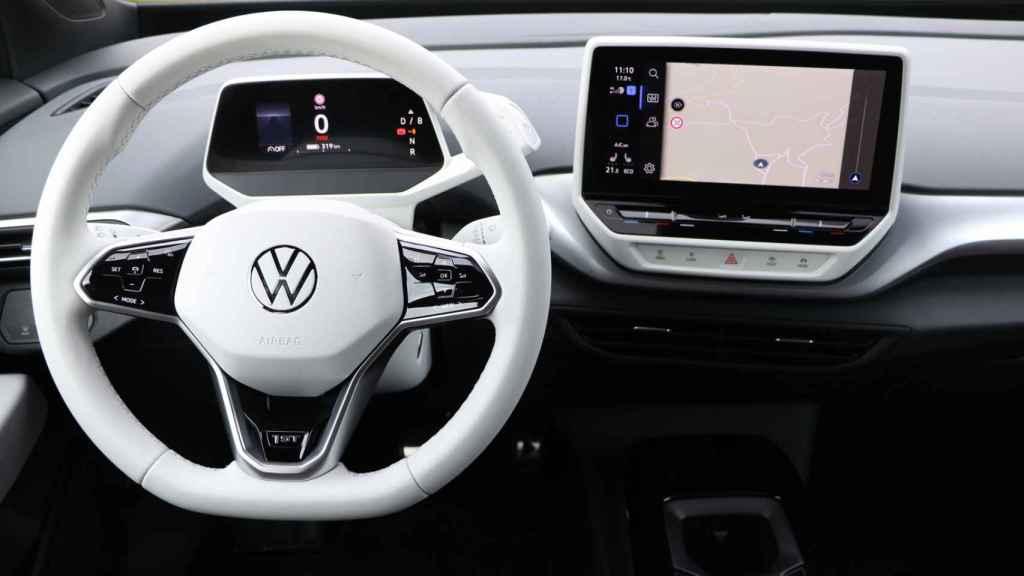 Interior del Volswagen ID.4.