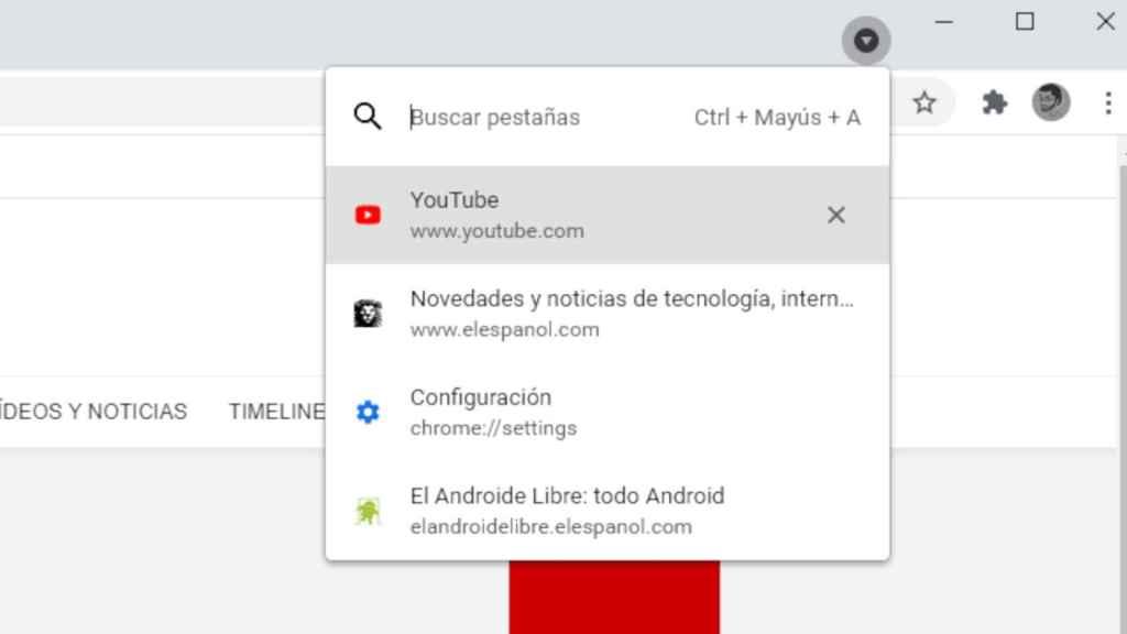 New Chrome Tab Finder