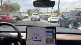 Un Tesla en Autopilot