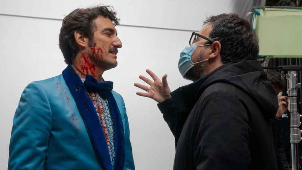 Grabación del episodio 'Freddy' de 'Historias para no dormir' de Amazon