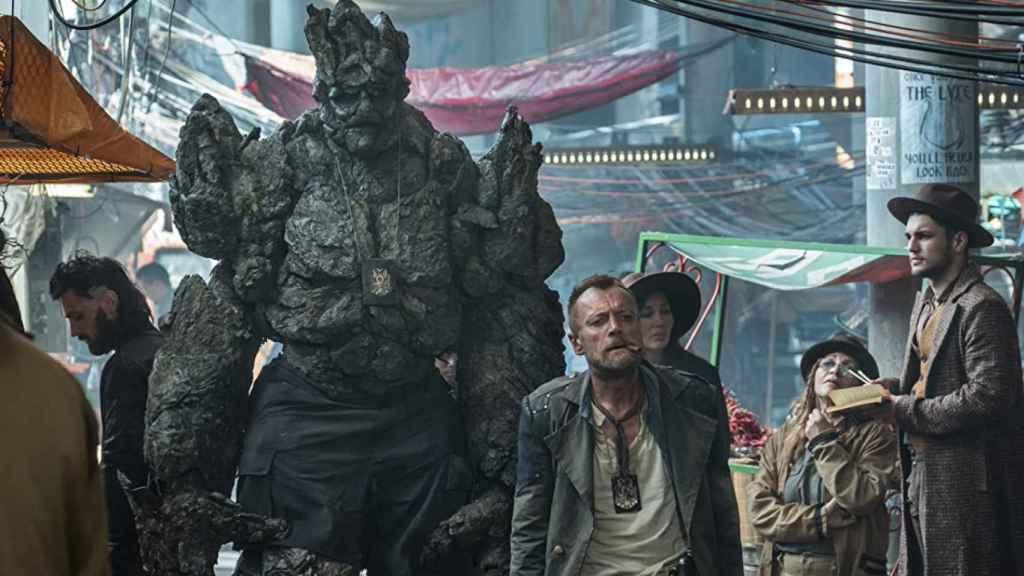 Craig Macrae es la voz de Detritus en 'La Guardia'.