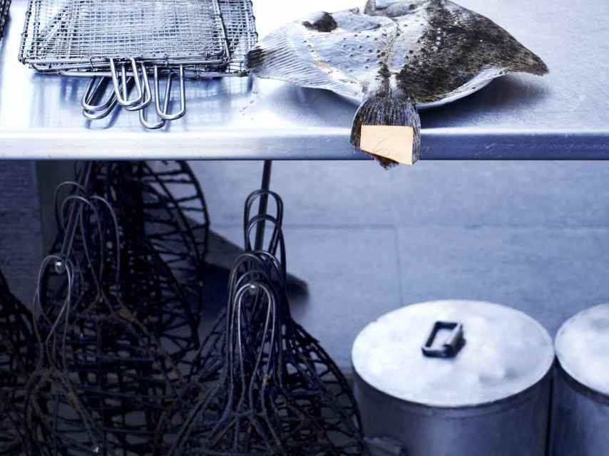 El producto es el protagonista de la cocina de Elkano.