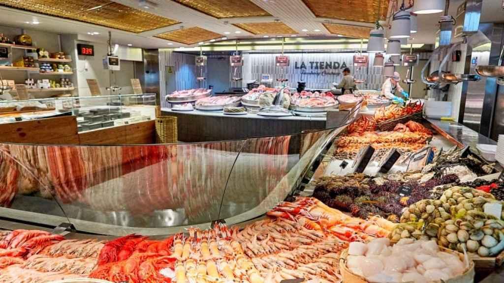 La Tienda de Juan Montalvo de Pescaderías Coruñesas.