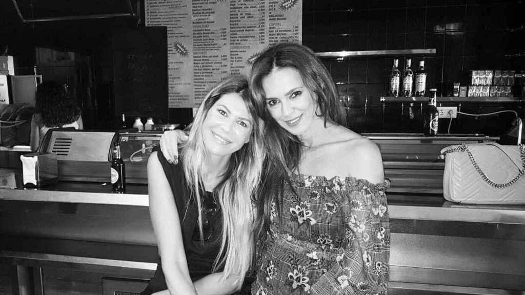 Ana y Olga, en una imagen que compartió la modelo por el cumpleaños de su amiga hace 4 años.