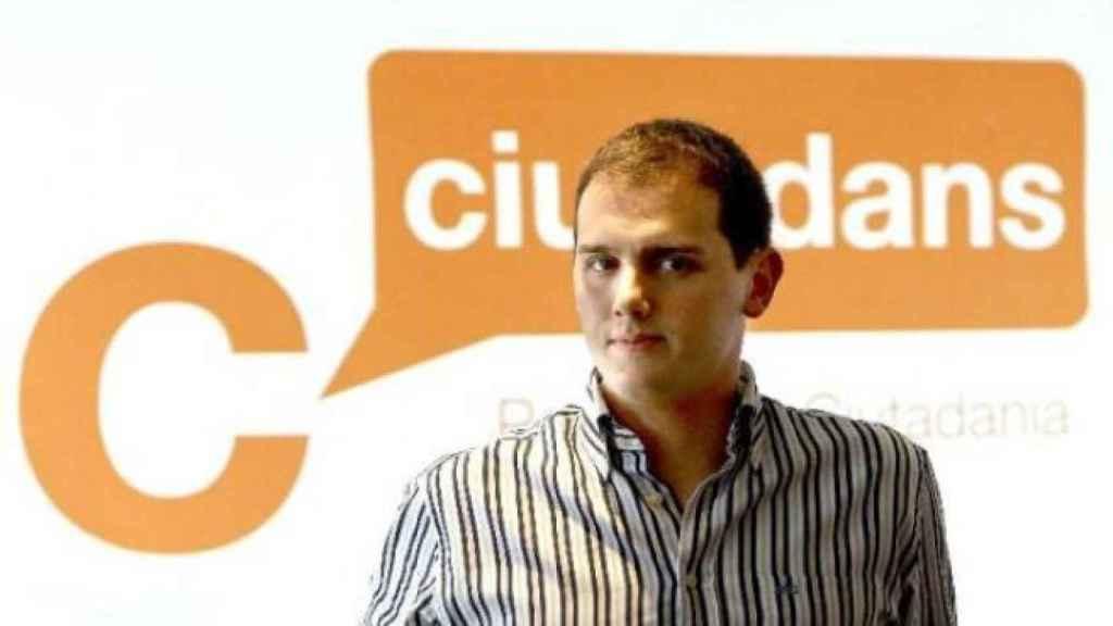 Albert Rivera, entonces presidente de Ciudadanos, en una foto de 2008.