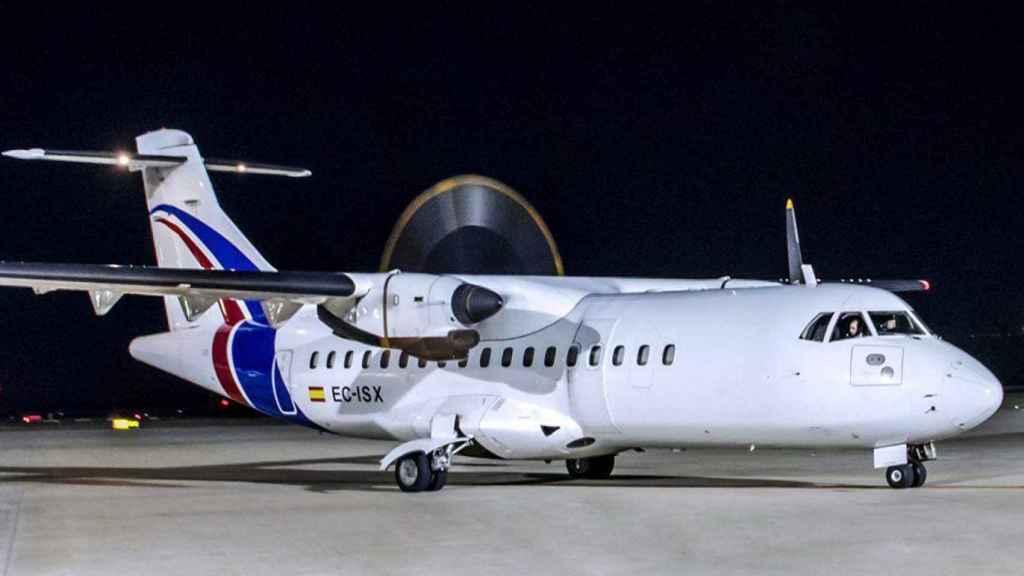 Avión de Swiftair.