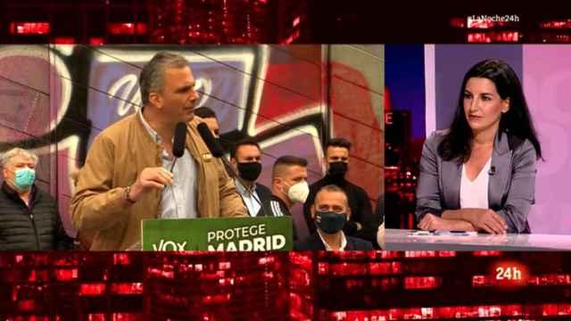 Diego Losada desmonta en directo una mentira de Rocío Monasterio sobre RTVE