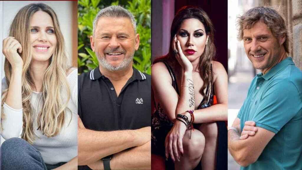 La cadena ha desvelado en un día ocho de los concursantes de 'MasterChef Celebrity'.