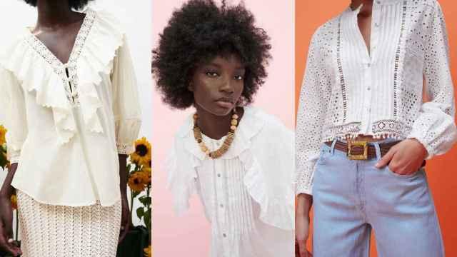 Zara tiene las ocho blusas más románticas y 'chic' del momento