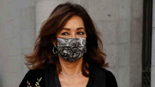 Ana Rosa Quintana, en la ópera de Madrid.
