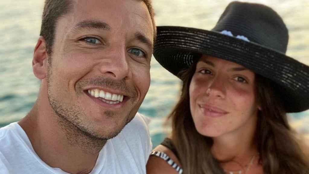 Benji Aparicio y Laura Matamoros en una imagen de sus redes sociales.