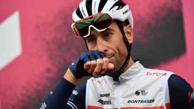 Vincenzo Nibali, corredor del Trek-Segafredo