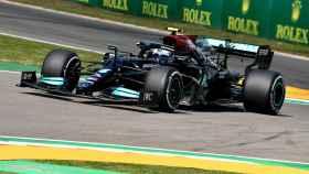 Valtteri Bottas en el circuito de Imola