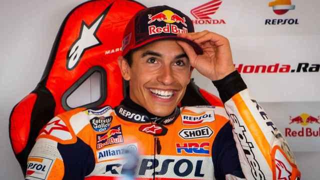 Marc Márquez, feliz tras su regreso a MotoGP