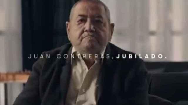 Juan Contreras, uno de los protagonistas de la campaña #YomeVacunoSeguro.