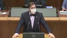 Luis Gordillo, diputado de Ciudadanos en el Parlamento Vasco.